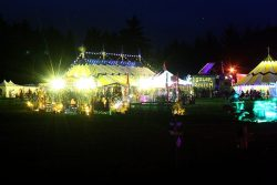 selene events festival at night