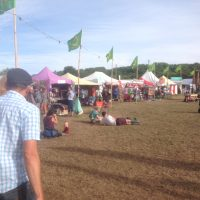 Croissant Neuf Field Glastonbury Festival