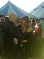 Michael Eavis and Sally Howell