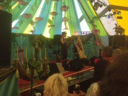 Hazel-O'Connor-on-stage-at-selene-events-glastonbury