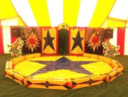 Circus Ring and backdrop