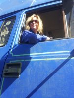 Sally trucks 10-4 good buddy