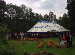 Selence Big Top Wedding daytime